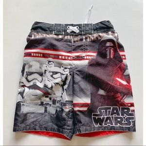Boys- Star Wars swim trunks
